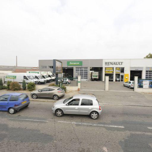Europcar France - Location d'automobiles de tourisme et d'utilitaires - Vénissieux