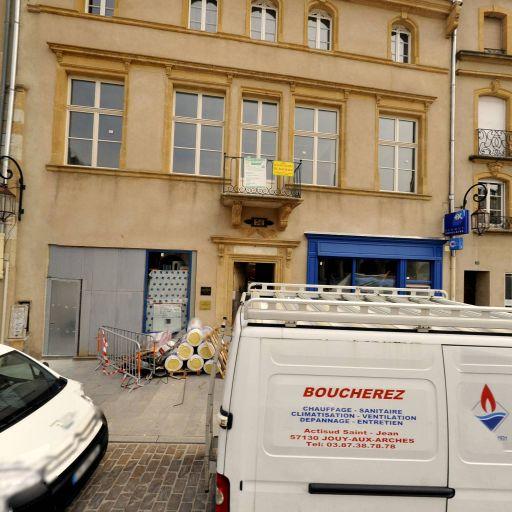 André Masius - Soins hors d'un cadre réglementé - Metz