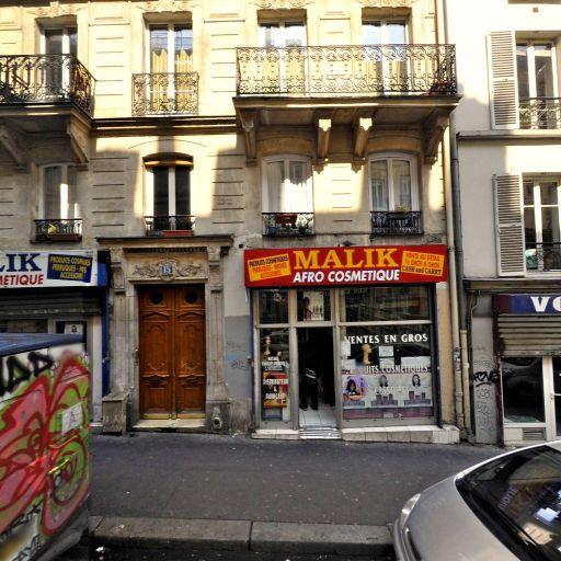 Malik Afro Cosmétiques - Fabrication de parfums et cosmétiques - Paris