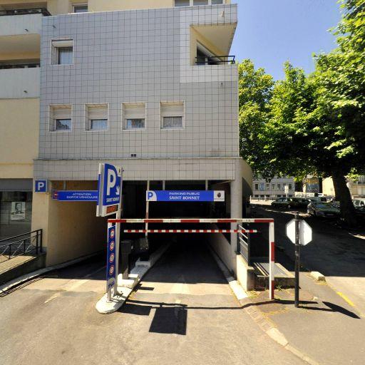 Parking Saint-Bonnet - Parking - Bourges