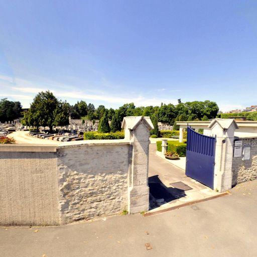 Cimetière Saint-Lazare du Bas - Cimetière - Bourges