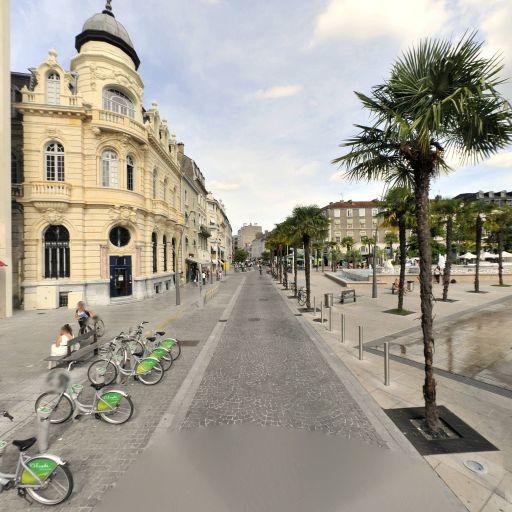 Parking Clémenceau - Parking public - Pau