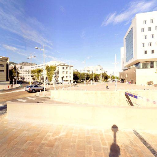 Aire de covoiturage Facultes - Aire de covoiturage - Toulon