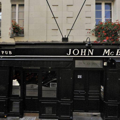 John Mc Byrne - Café bar - Nantes