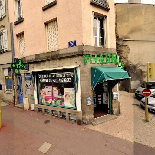Pharmacie Coiffe - Pharmacie - Limoges