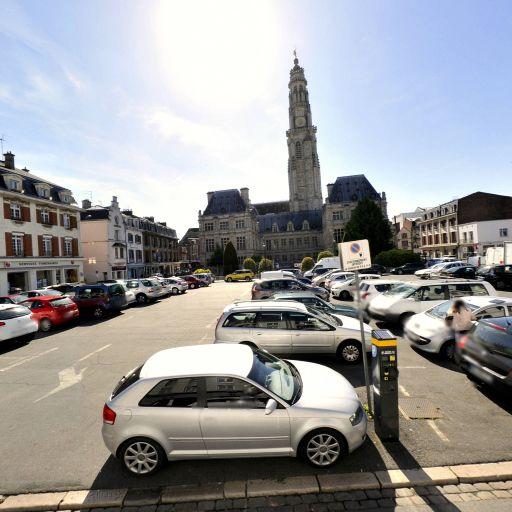Parking La Vacquerie - Parking - Arras