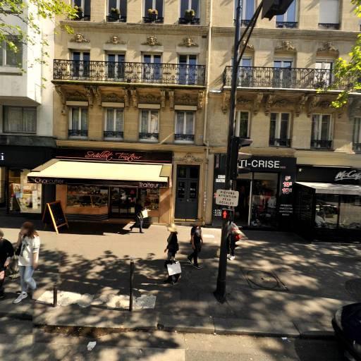 Station Vélib' Victor Hugo - La Pompe - Vélos en libre-service - Paris