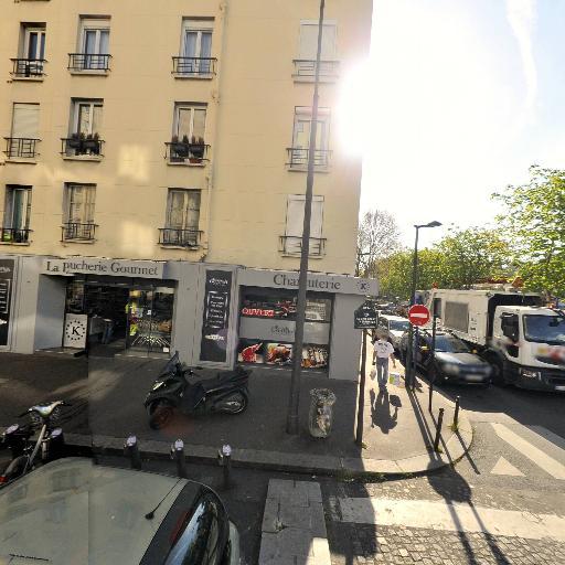 Station Vélib' Commandant l'Herminier - Gallieni - Vélos en libre-service - Paris