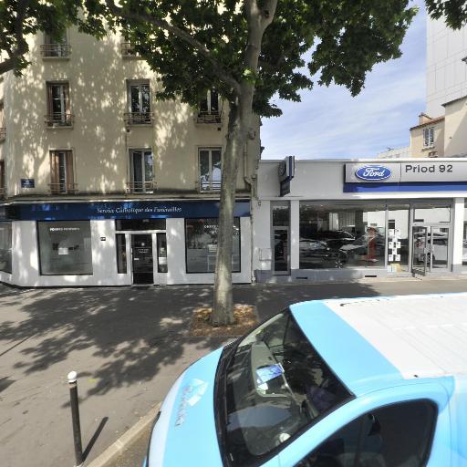 FORD BOULOGNE - Alliance 92 - Concessionnaire automobile - Boulogne-Billancourt