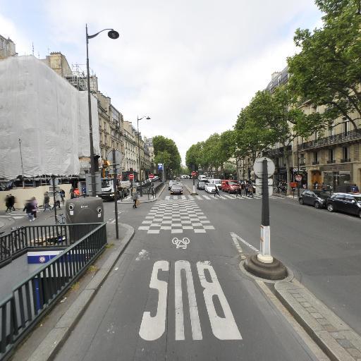 Saint-Germain des Prés - Parking public - Paris