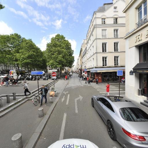 Station Vélib' René Boulanger - Lancry - Vélos en libre-service - Paris