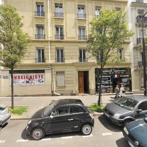 Station Vélib' Claude Vellefaux - Sambre et Meuse - Vélos en libre-service - Paris