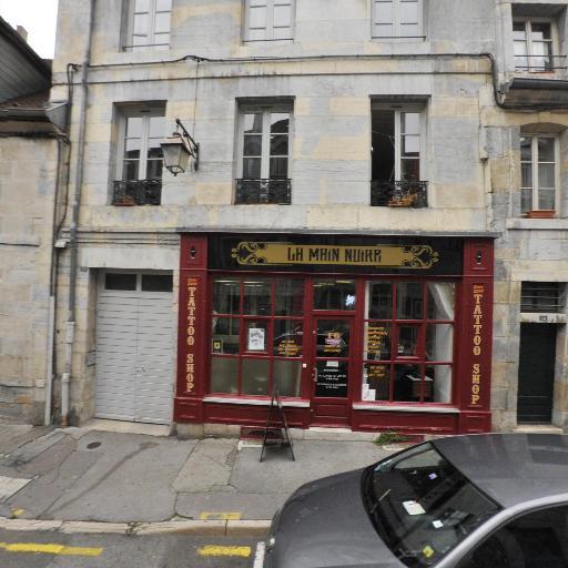 La Main Noire - Tatouages - Besançon