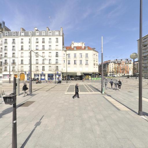 Station Vélib' Cours de Vincennes - Davout - Vélos en libre-service - Paris