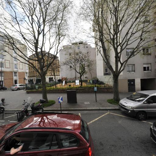 Square des rue des Orteaux et Croix Saint Simon - Parc, jardin à visiter - Paris