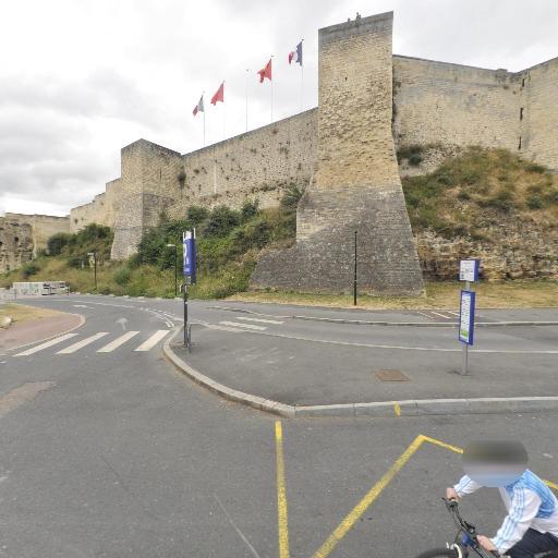 Château - Parking public - Caen