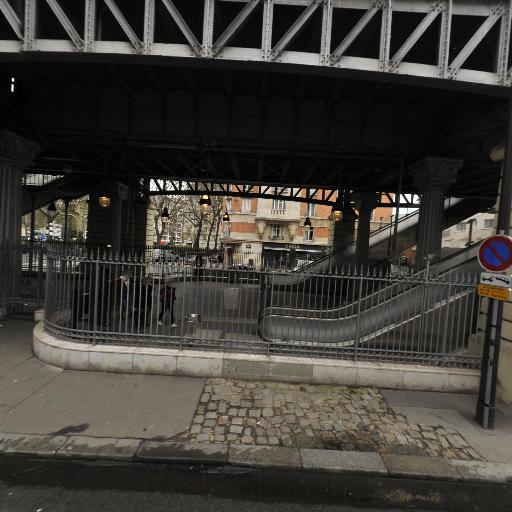 Station Vélib' Square Cambronne - Vélos en libre-service - Paris
