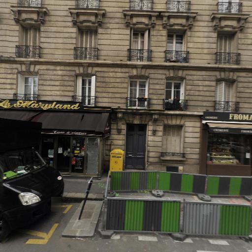 Station Vélib' Didot - Mariniers - Vélos en libre-service - Paris