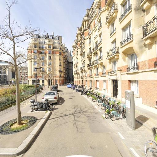 Station Vélib' Square Desnouettes - Vélos en libre-service - Paris