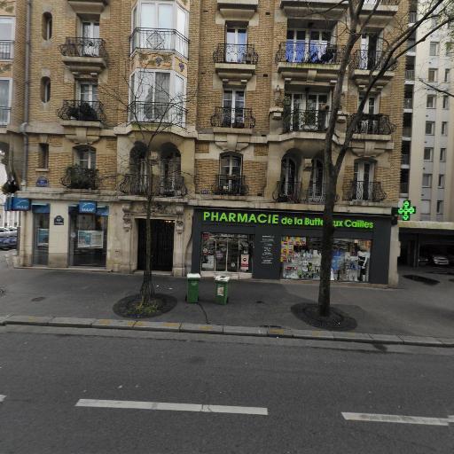 Pharmacie de la Butte aux Cailles Snc - Pharmacie - Paris