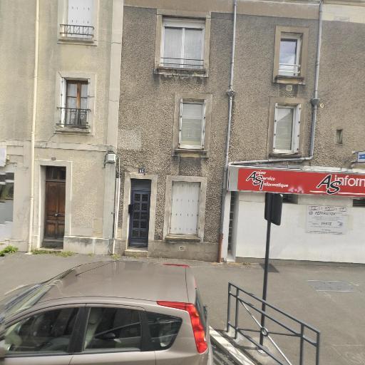 Anjou Service Informatique AS Informatiq - Vente de matériel et consommables informatiques - Angers